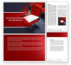 Education & Training: Lecture Room Word Template #04361