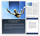 Business Concepts: Falling Word Template #04374