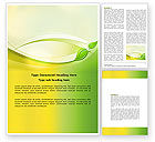 Nature & Environment: Conceived Life Word Template #04383