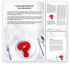 Food & Beverage: Hunger Word Template #04387