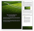 Sports: Football Duel Word Template #04410