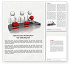 Education & Training: Intellectual Test Word Template #04459