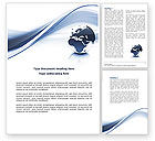 Global: World View Word Template #04472