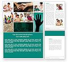 Education & Training: Multikulturalismus Word Vorlage #04475