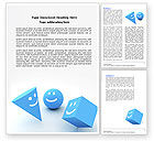 Education & Training: Smiles Word Template #04495