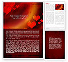 Holiday/Special Occasion: Love Theme Word Template #04508