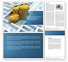 Financial/Accounting: Making Money Word Template #04511