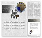 Careers/Industry: Migration Word Template #04521
