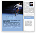 Sports: Endeavour Word Template #04561