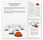 Business Concepts: Multiple Choice Word Template #04578