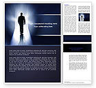 Careers/Industry: Road To Exit Word Template #04586