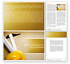 Construction: Foreman Word Template #04611