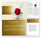 Financial/Accounting: Yen Currency of Japan Word Template #04627