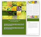 Nature & Environment: Floristic Word Template #04648
