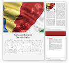 Flags/International: Flag of the Republic of Seychelles Word Template #04651