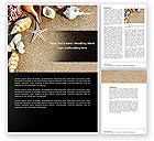 Nature & Environment: Vacation Memories Word Template #04654