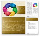 Religious/Spiritual: Peoples Diversity Word Template #04673