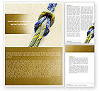 Business Concepts: Reef Knot Word Template #04678