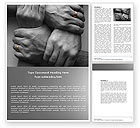 Religious/Spiritual: Family Support Word Template #04693