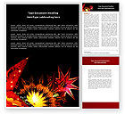 Holiday/Special Occasion: Festival of Lights Word Template #04701
