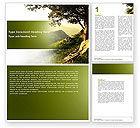 Nature & Environment: Hochland Word Vorlage #04704