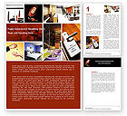 Careers/Industry: Hotel Services Word Template #04713