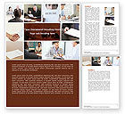 Careers/Industry: Job Interview Word Template #04724
