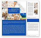 Food & Beverage: Milk Feeding Word Template #04747