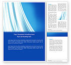 Abstract/Textures: Abstract Blue Silver Word Template #04750
