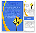 Financial/Accounting: Inflation Threat Word Template #04767