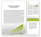 Business Concepts: Rate Chart Word Template #04779