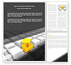 Consulting: Open Box Word Template #04830