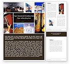 Education & Training: World History Word Template #04865