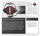 Sports: Sports Announcer Word Template #04870