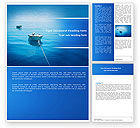 Nature & Environment: Motor Boats Word Template #04880