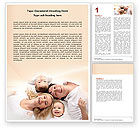 People: Lucky Family Word Template #04888