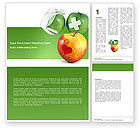 Medical: Vitamin Treatment Word Template #04895