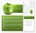 Education & Training: Apple Bite Word Template #04900