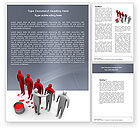 Education & Training: Likeness Word Template #04904