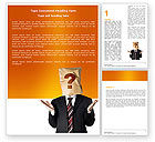 Consulting: Paper Bag Word Template #04905