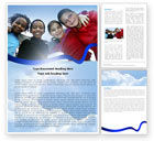 Education & Training: Cultural Diversity Word Template #04914