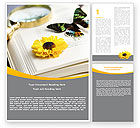 Education & Training: Butterfly Watching Word Template #04974