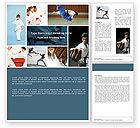 Sports: Karate Word Template #05001