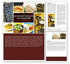 Food & Beverage: Indian Food Word Template #05011