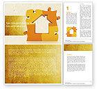 Consulting: Stadthausplanung Word Vorlage #05014