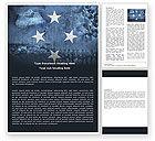 Flags/International: Free Micronesia Word Template #05016