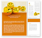 Consulting: Emoticons Word Template #05022