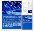 Telecommunication: Modelo do Word - rede de difusão #05044