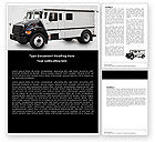 Careers/Industry: Free Armored Car Word Template #05059