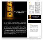 Careers/Industry: Cinema Strip Word Template #05073